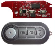 Emulatore per radiocomandi FIAT 3 Tasti Sistema MAGNETI MARELLI (46) YPSLON-MUSA-DUCATO-GIULIETTA-500L-BRAVO-DELTA.... transponder PCF7946 integrato su scheda